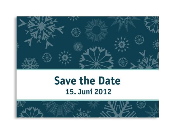 Save-The-Date-Hochzeitskarte Reykjavik (Postkarte A6)