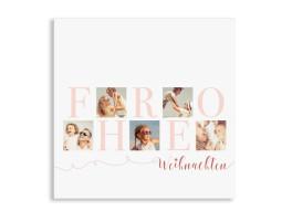 Weihnachtskarte Big Letter