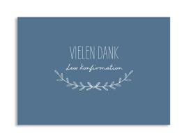 """Konfirmationsdanksagungen """"Zweig"""" (Postkarte)"""