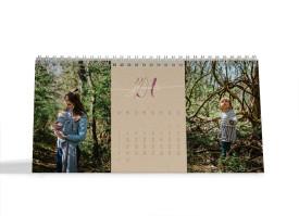 """Choose your Pics Fotokalender """"Naturblick""""  altrosa"""