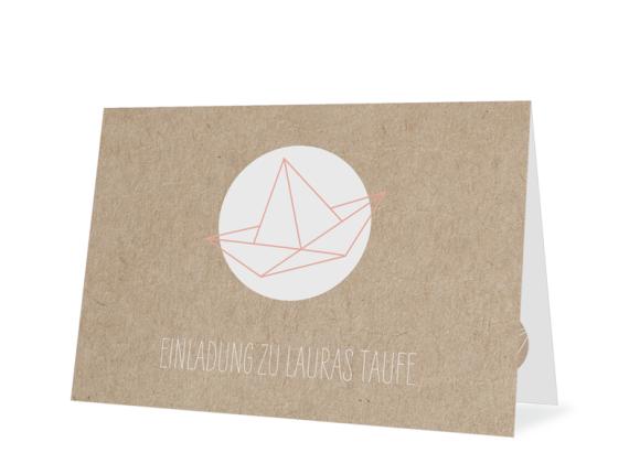 """Einladungskarte Taufe """"Mare"""""""
