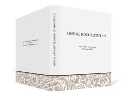 Gästebuch Rokko Weiß zur Hochzeit (Ringbuchordner DIN A4)