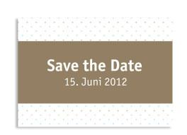 Save-The-Date-Karte Prag zur Hochzeit (Postkarte A6)