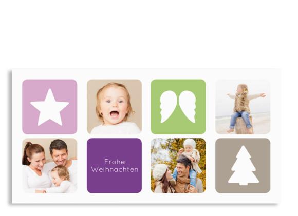 Weihnachtskarte Ava/Avery (Postkarte)