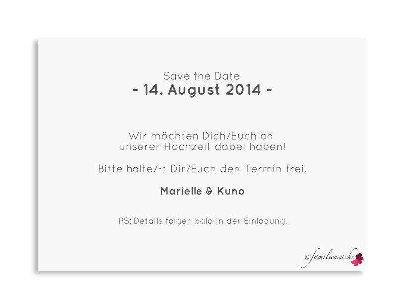hochzeitskarten online gestalten kreta save the date. Black Bedroom Furniture Sets. Home Design Ideas