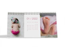 """Choose your Pics Fotokalender """"Foto""""  altrosa"""