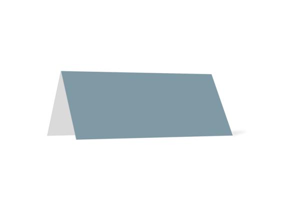 Tischkarte, Motiv: Rotterdam, Rückseite, Farbvariante: blau