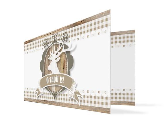 Einladungskarten Wiesn (Klappkarte)