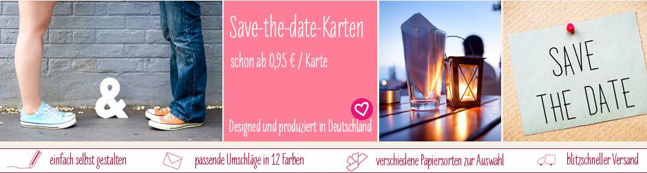 save the date karten selbst gestalten einfach familiensache. Black Bedroom Furniture Sets. Home Design Ideas