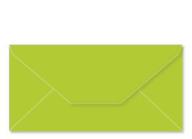 ANGEBOT! Umschlag DL (220 x 110 mm), apfelgrün