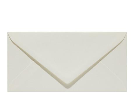 Umschlag im Format DL (220 x 110 mm), carnation white