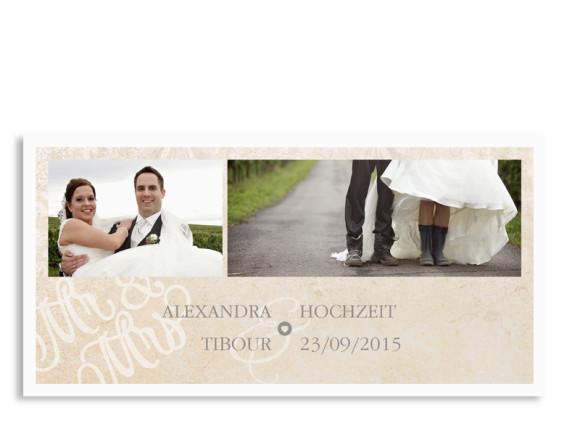 Danksagungen zur Hochzeit Budapest