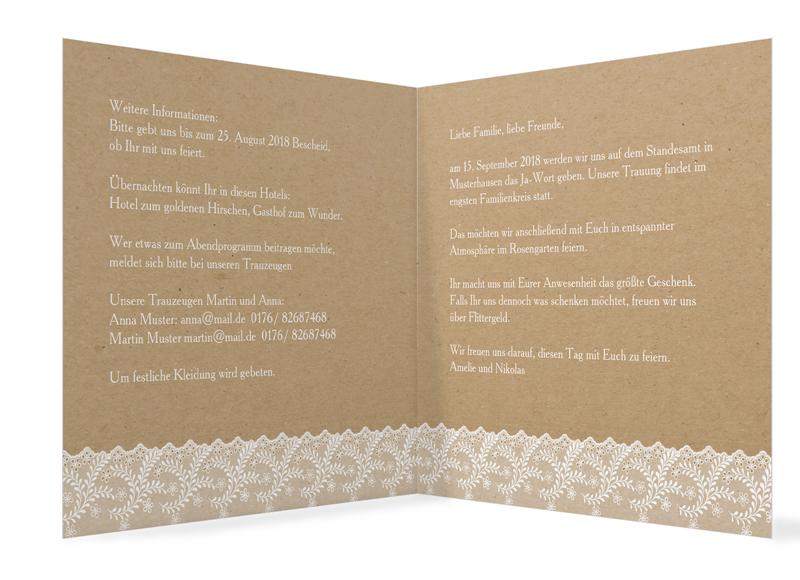 Hochzeitseinladungen Gribaltar Grosse Motivauswahl