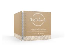 """Gästebuch """"Gibraltar"""" (15 x 15 cm)"""