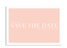 Save the Date-Karte Nizza