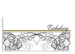 Einladung Spitze (Postkarte, mit Foto)