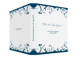 Gästebuch Miami zur Hochzeit (Ringbuchordner DIN A4)