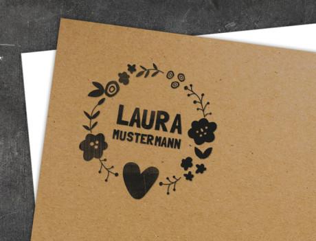 Geburtsstempel Laura/Levi