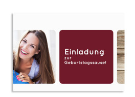 Einladungskarten zum Geburtstag Zürich