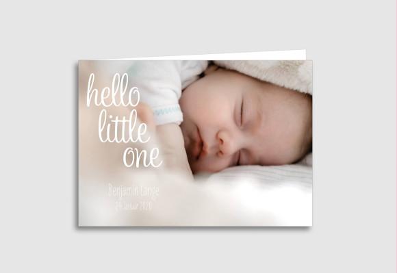 Babykarte Little One