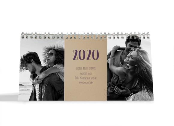 Choose your Pics Fotokalender, Motiv: Naturküche, Innenansicht, Farbvariante: aubergine