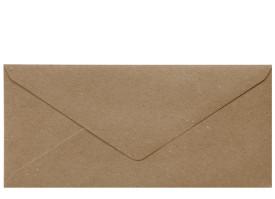 Umschlag DL (220 x 110 mm), browny craft