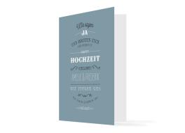 """Einladungskarten zur Hochzeit """"Rotterdam"""""""