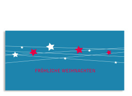 Weihnachtskarte Firmament (Postkarte)