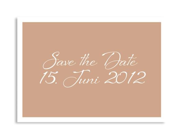 Save-The-Date-Hochzeitskarte Verona (Postkarte A6)