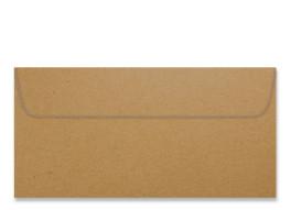 XXX Umschlag im Format DL (220 x 110 mm), Packpapier