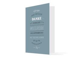 """Hochzeitsdanksagung """"Rotterdam"""""""