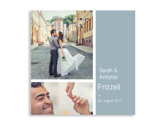 Danksagungskarten Boxes zur Hochzeit