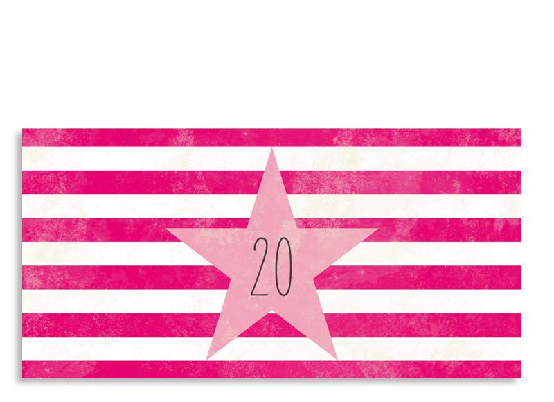 Einladung Zum 20. Vintage Star (Postkarte, Mit 2 Fotos) ...