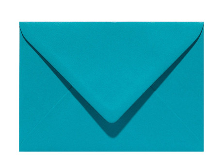 Umschlag C6 turquoise