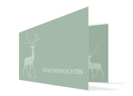 Weihnachtskarte Holy Deer