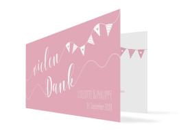 Danksagungskarten zur Hochzeit Malmö mit einem Foto