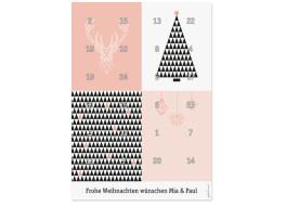 Foto-Adventskalender Origami (DIN A4)