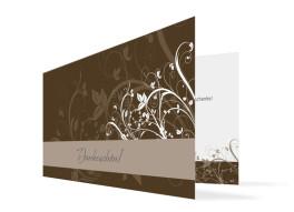 Hochzeits-Danksagungskarte Wien (Klappkarte)