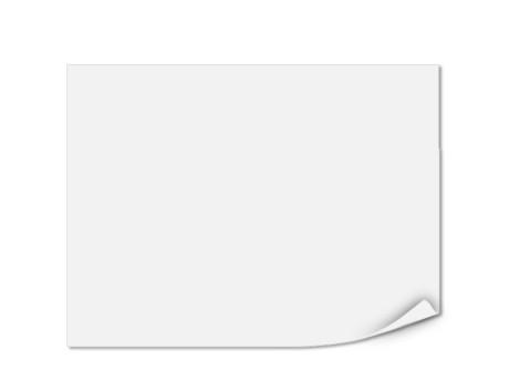 Einlegeblatt unbedruckt, Transparentpapier, 143 x 108 mm