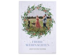 """Adventskalender """"Wintereinzug"""" (DIN A4)"""