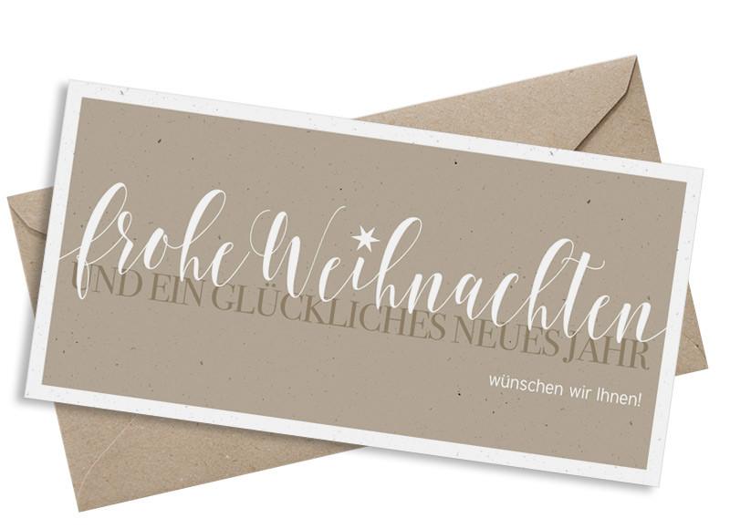 Geschäftliche Weihnachtskarten Text.Firmenkarte Zu Weihnachten Frohe Weihnachten Familiensache