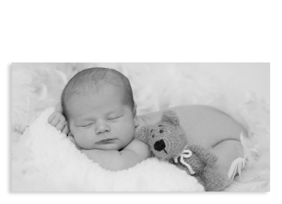 "Geburtskarten ""Fotokarte"" (DL Postkarte)"