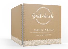 """Gästebuch """"Gibraltar"""" (30 x 30cm)"""