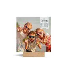 """Foto-Tischkalender """"Vintage""""  150x150 mm grau"""