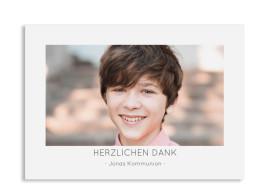 "Kommunion Danksagung ""Ausblick"" (Postkarte)"