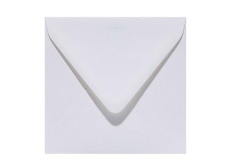 quadratischer Umschlag 110 x 110 white
