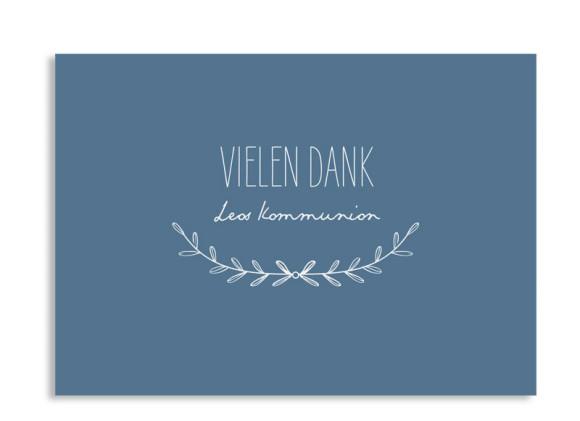 """Kommunionsdanksagungen """"Zweig"""" (Postkarte A6)"""