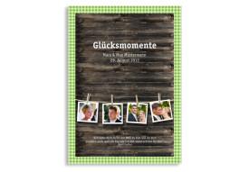Gästebuch zur Hochzeit Alpenglühen (Einlegeblätter DIN A4)