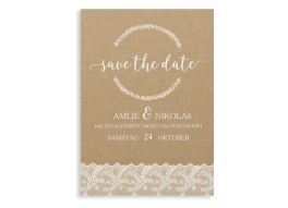 """Save-the-Date """"Gibraltar"""""""