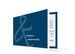 Goldhochzeit Bern (Klappkarte C6)